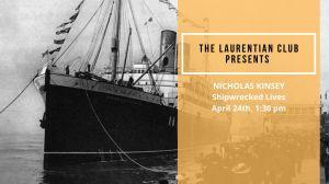 Nicholas Kinsey: 'Shipwrecked Lives '